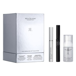 REVILASH PERFECTING GIFT COLLECTION 3 PRODOTTI : RevitaLash® Advanced Eyelash Conditioner – 3.5 mL Double-Ended Volume Set - 2.5 mL (per ciascun lato) Micellar Water Lash Wash - 30 ml